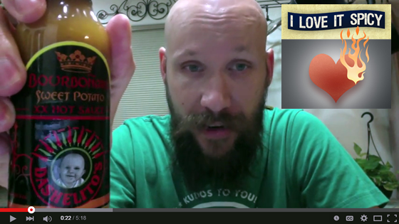 iloveitspicy.com review Bourbonaro Hot Sauce